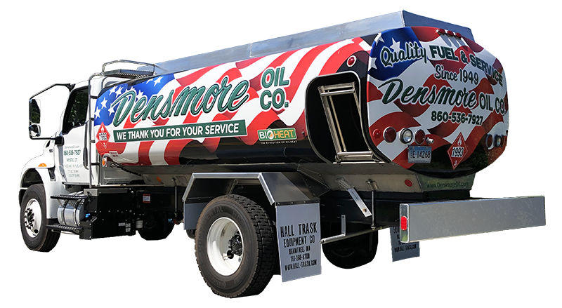 Densmore Oil Military Discount Truck in CT